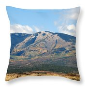 Abajo Mountains Utah Throw Pillow