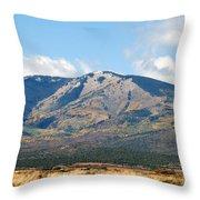 Abajo Mountains Utah Throw Pillow