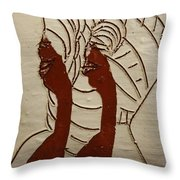 Abakyala - Women - Tile Throw Pillow