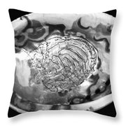 Abalone Shell Throw Pillow
