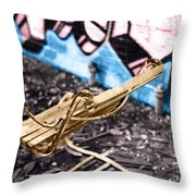 Abandon Wear House IIi Throw Pillow