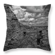 Abandoned 5 Bw. Throw Pillow