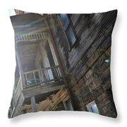 Abandoned Belvedere 2 Throw Pillow