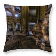 Abandoned Chapel Of An Important Liguria Family II - Cappella Abbandonata Di Famiglia Ligure 2 Throw Pillow