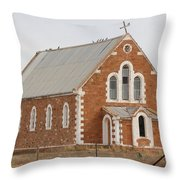 Abandoned Church Throw Pillow