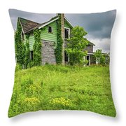 Abandoned Dreams 2 Throw Pillow