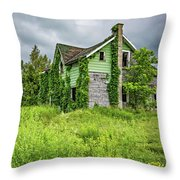 Abandoned Dreams 3 Throw Pillow