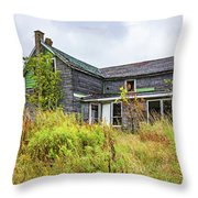 Abandoned Dreams 5 Throw Pillow