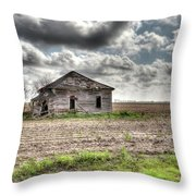 Abandoned House - Ganado, Tx Throw Pillow
