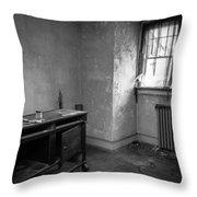 Abandoned House Wilson Nc 0012 Throw Pillow