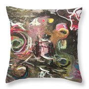Abandoned Idea2 Throw Pillow
