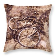 Abandoned - Impressions Throw Pillow