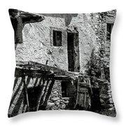 Abandoned Ix Throw Pillow