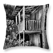 Abandoned, Kalamaki, Zakynthos Throw Pillow by John Edwards