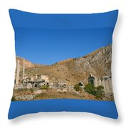 Abandoned Mill Throw Pillow