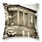 Abandoned Plantation House #4 Throw Pillow