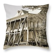 Abandoned Plantation House #3 Throw Pillow