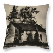 Abandoned Religion  Throw Pillow