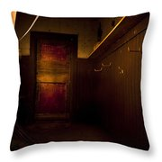 Abandoned Schoolhouse Throw Pillow