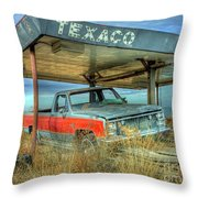 Abandoned Silverado Throw Pillow