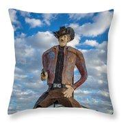 Abandoned Texas #3 Throw Pillow