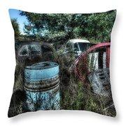 Abandoned Vehicles - Veicoli Abbandonati  1 Throw Pillow