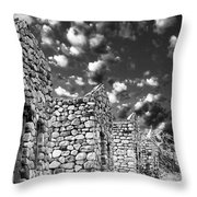 Abandonment Issues Throw Pillow