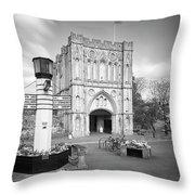 Abbey Gate Throw Pillow