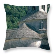 Abbeye De Senanque Throw Pillow