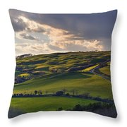 Abbotsbury - England Throw Pillow