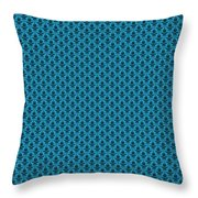 Abby Damask In Black Pattern 18-p0113 Throw Pillow