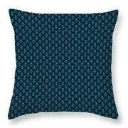 Abby Damask With A Black Background 18-p0113 Throw Pillow