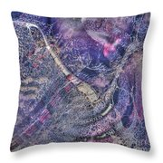 Abcollage Throw Pillow