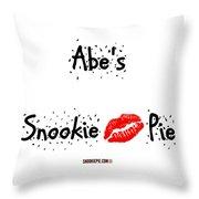 Abe-confetti Kiss Throw Pillow