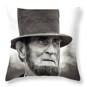 Abe Throw Pillow