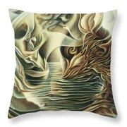 Abiding In  Throw Pillow