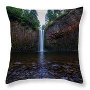 Abiqua Falls 2 Throw Pillow