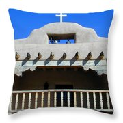Abiquiu Church Number 2 Throw Pillow