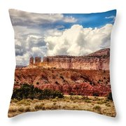 Abiquiu Landscape  Throw Pillow