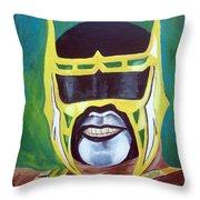 Abismo Negro Throw Pillow