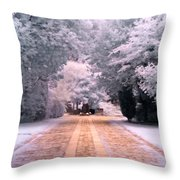 Abney Park, London Throw Pillow by Helga Novelli