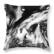 Abolished Throw Pillow
