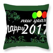 About New Year Throw Pillow