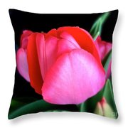 Just About To Bloom Throw Pillow