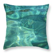 Above And Beneath Throw Pillow