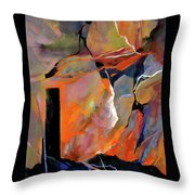 Above, Below And Beyond Throw Pillow