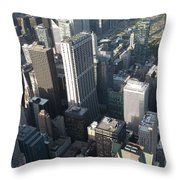 Above Chicago 2 Throw Pillow