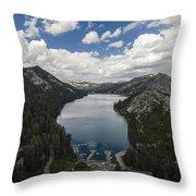 Above Echo Lake Throw Pillow