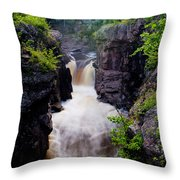 Above The Cauldron Throw Pillow
