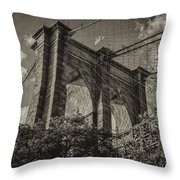 Above The Fray Throw Pillow